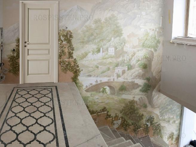 фреска-на-стене-панорама1