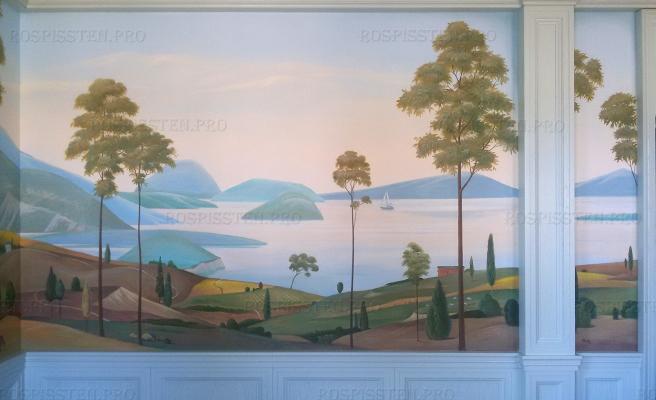 роспись-интерьера-загородного-дома