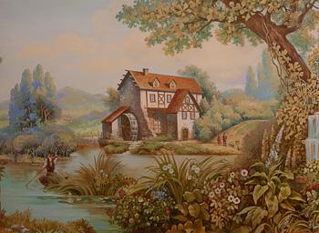гобелен- роспись стен