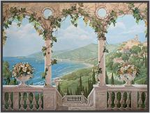 роспись итальянский пейзаж