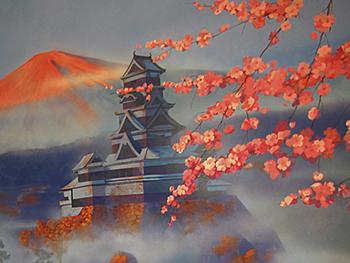 Росписи японских стен