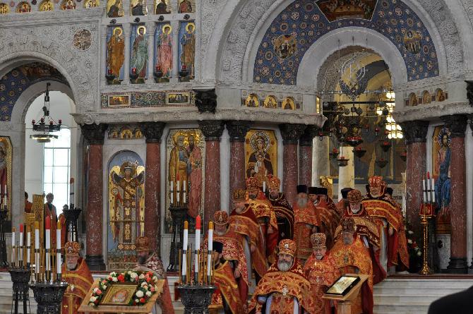 богослужение в кронштадском соборе