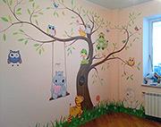 роспись-детской-комнаты-заказать