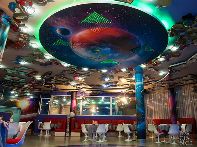 роспись-ночного-клуба, роспись-потолка, дизайн -интерьера-ресторана
