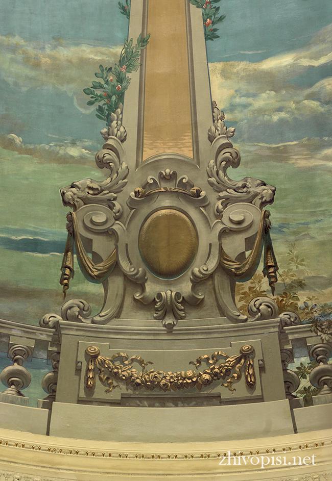 фрагмент росписи потолка