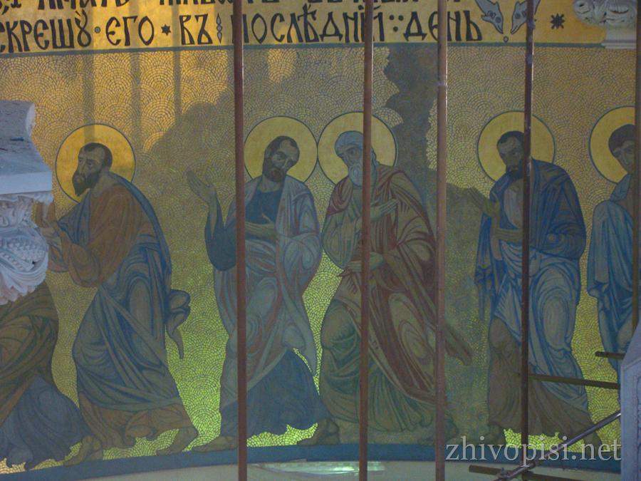 композиция евхаристия никольский морской собор кронштадт