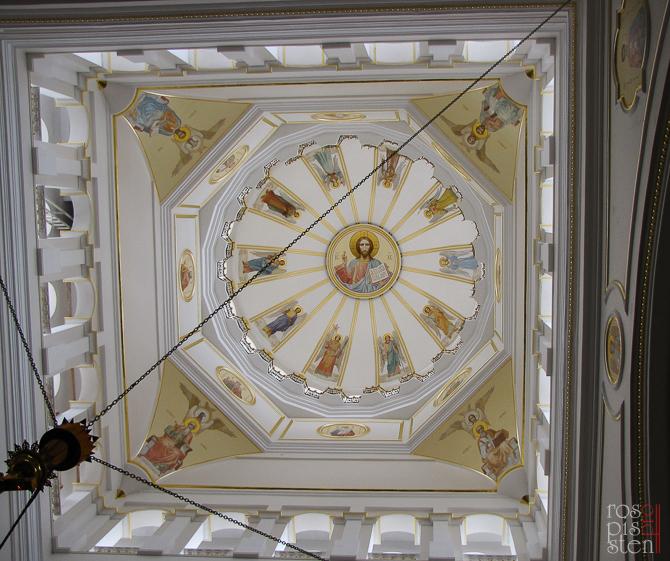 роспись купола собора