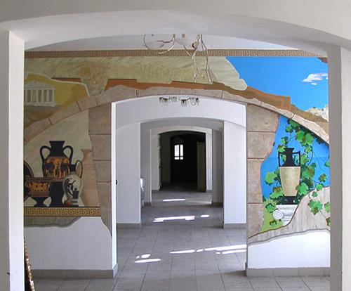 роспись в залах