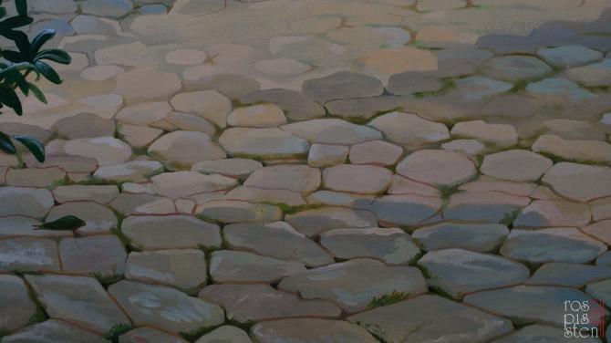 каменная мостовая