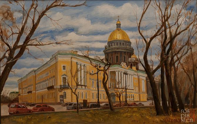 Санкт-Петербург: Адмиралтейский проспект