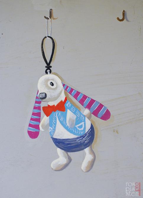 натюрморт с зайцем