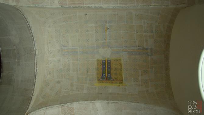 профзаклейка орнамента в своде галереи