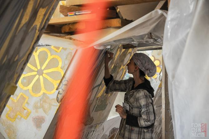 реставрация орнамента Морского собора в Кронштадте