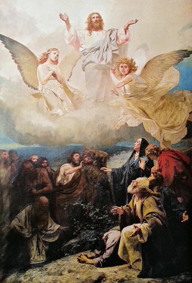 Воскрешение Христа роспись храма