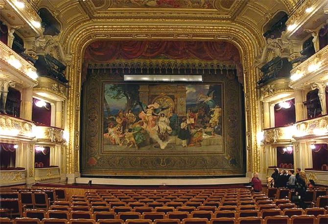 Генрих Семирадский Львовский оперный театр