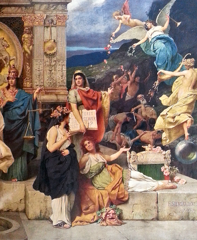 Семирадский роспись в Львовской опере