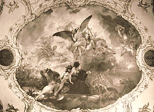 роспись потолка Генрих Семирадский