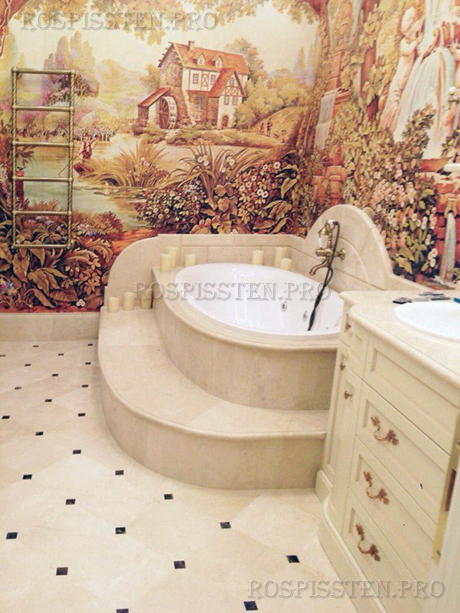 роспись-стен-в-ванной-квартире