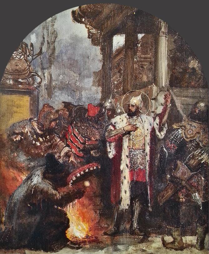 роспись храма Христа Спасителя эскизы