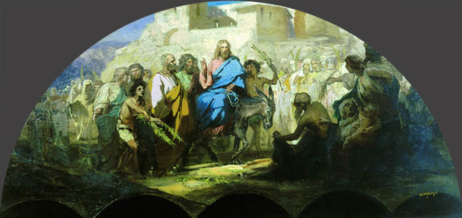 семирадский въезд Христа в Иерусалим