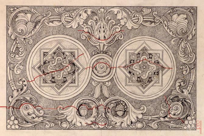 морской собор орнамент