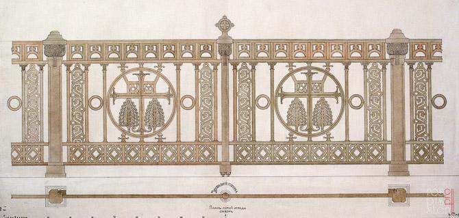 морской собор проект ограды