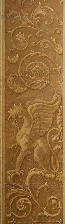 орнамент с грифонами