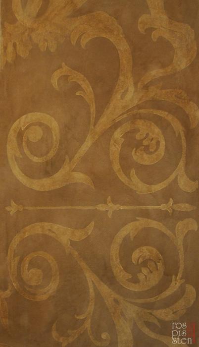прорисовка орнамента