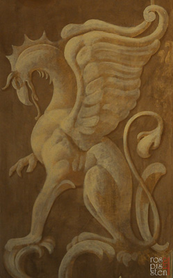 рисунок грифона