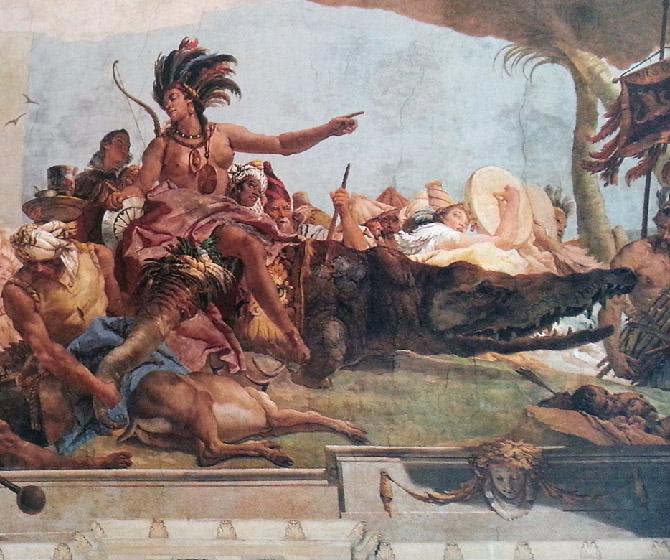 росписи Тьеполо в Вюрцбурге