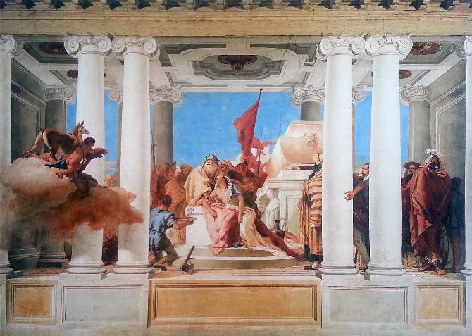 росписи на стенах Тьеполо
