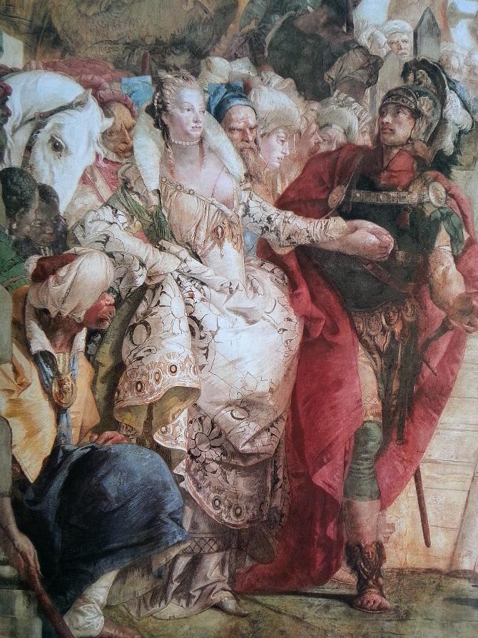 роспись стен в палаццо Реале