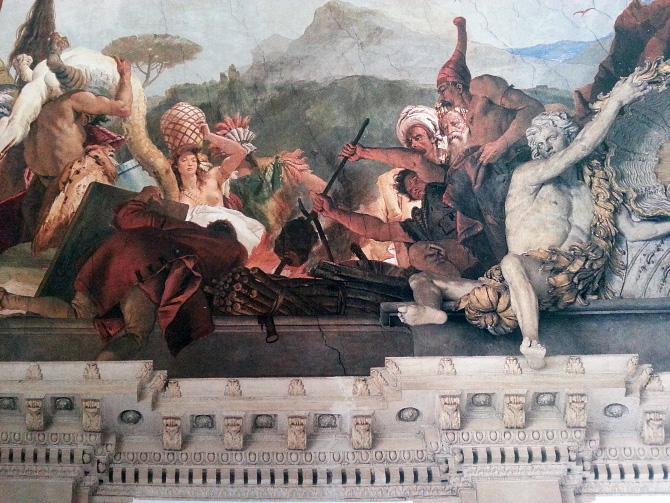 фрагмент картины Тьеполо Джованни Баттиста
