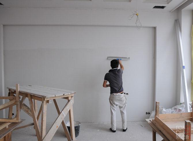 подготовка стен для росписи