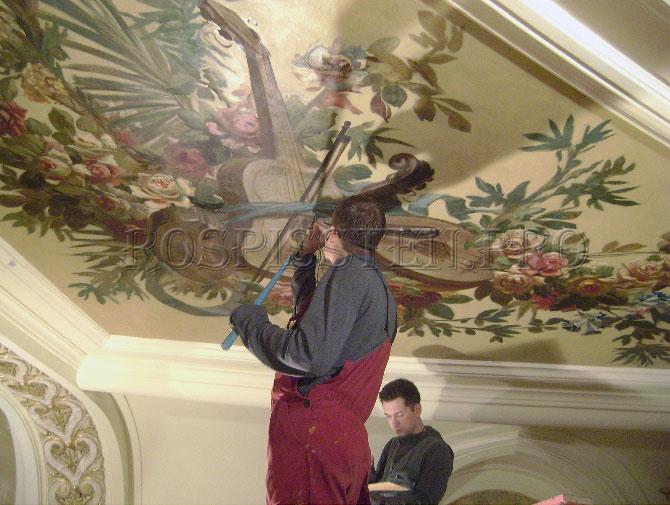 роспись-потолка