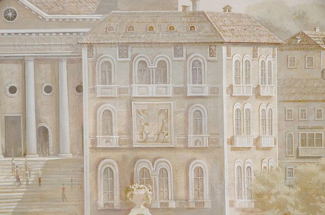 """фреска на стене """"Венеция"""""""