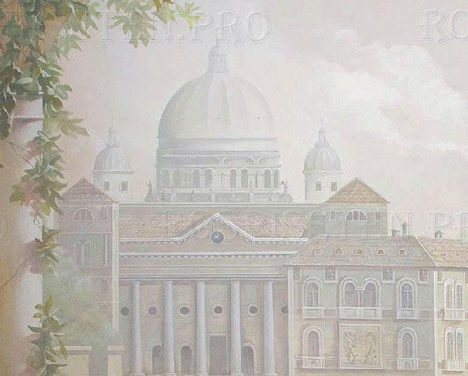 фреска с Венецией