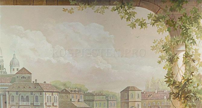 """рисунок на стене """"Венеция"""""""