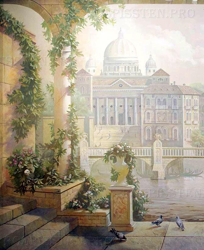роспись стен венеция