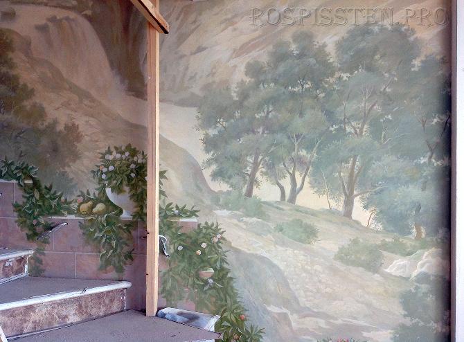 freska-v-kvartire-rospis-sten