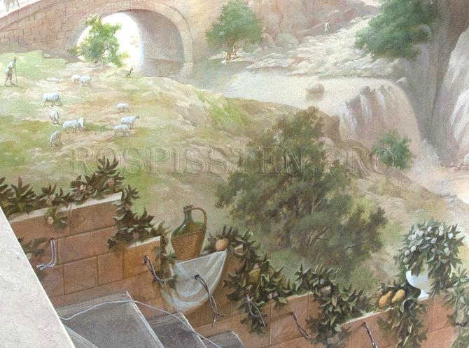фреска-настенная-фрагмент