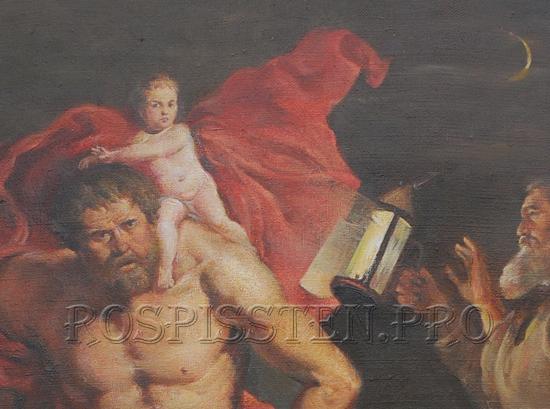 св. христофор-картина-фрагмент