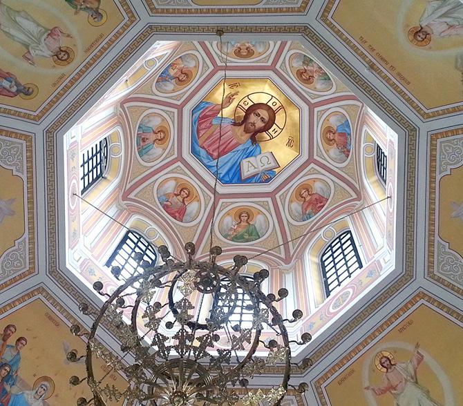 роспись купола храма александра невского