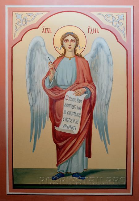 ангел - роспись храма