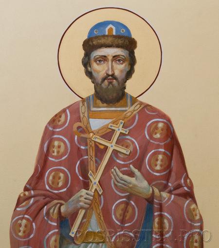 св. князь михаил тверской - роспись храма