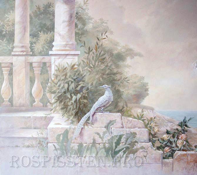роспись--фазан