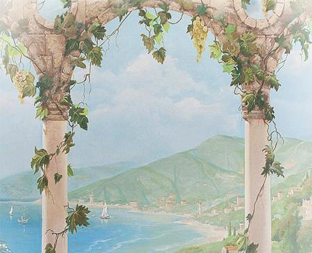 роспись стен Италия