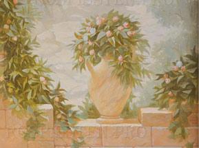 роспись на стене Италия