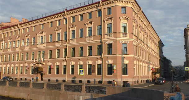 отель Лотте, Санкт-Петербург