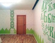 роспись-детской-комнаты-декоративная